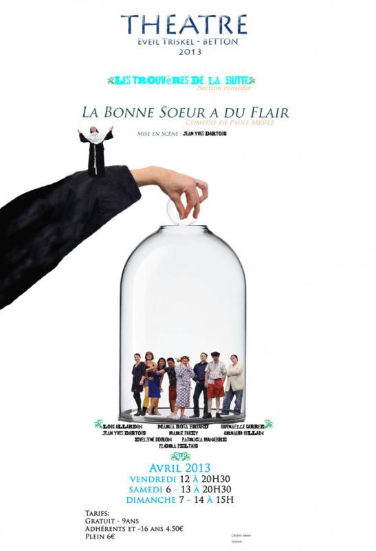 les baladins de lanvezhon La bonne soeur à du flair 2013